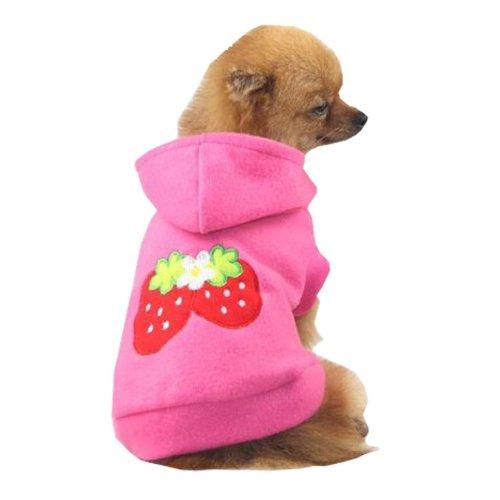 Sudadera con capucha de lana de perrito