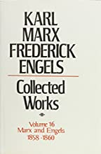 Collected Works 16 1858-60