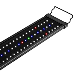 Aluminum alloy shell is stylish and incredibly durable; energy-efficient LED lighting to extend the operational life span The full-spectrum array combines white, blue, red and green LEDs to be brighter than the most lights, producing a fine-tuned col...