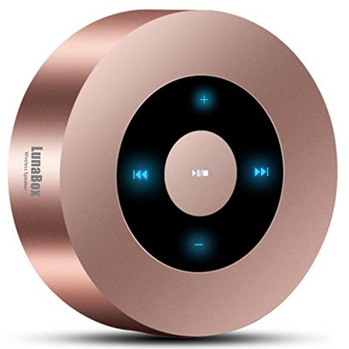 LunaBox Super Portable Bluetooth speaker, with 10-Hour Playtime, 60-foot...