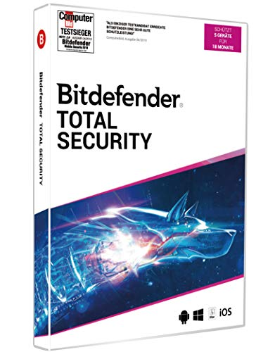Bitdefender Total Security 2020 5 Geräte/18Monate