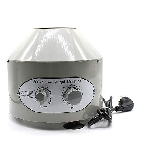 Centrífuga de Mesa, Centrífuga de Laboratorio de 25W 0-4000 rpm 60 Hz, Centrifugadora Laboratorio de Capacidad 6 * 20 ml