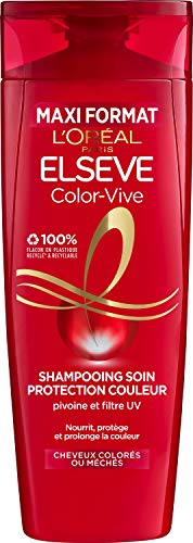 bon comparatif L'Oreal Paris El Sheave Care Shampoo – Pour cheveux colorés ou mèches – Color Vibe – 400 ml un avis de 2021