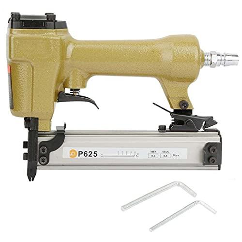 Aire Pin Clavadora Grapadora neumática P625 10-25mm de uñas herramienta eléctrica para...