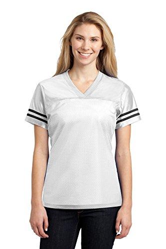 Sport-Tek Maillot Replica PosiCharge pour femme - Blanc - XXXX-Large