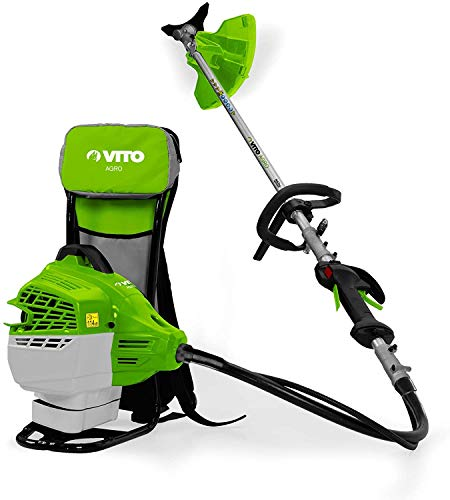 Vito AGRO Desbrozadora de Mochilla Cutter Plus 47 Velocidad 7750 – 8150rpm   Potencia 2,6cv   Capacidad del Tanque 1,0 litros