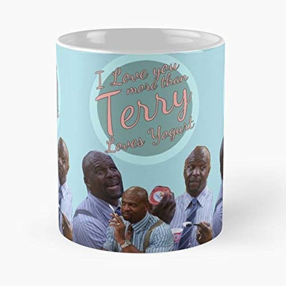 Brooklyn Nine Terry Crews Yogurt Jeffords - Coffee Mug 11 Oz Funny Gift