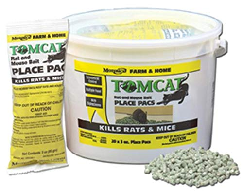 MOTOMCO Tomcat Mouse and Rat Pack/Pail, 3-Ounce, 22 Count...