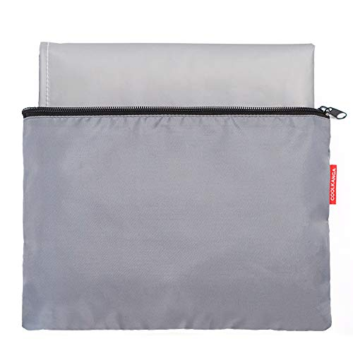 Portable Changing Pad: Large, Fully Padded, Waterproof and Wipeable Travel Mat with Storage Bag