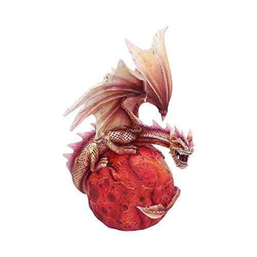 Nemesis Now Mars Guardian Figura de dragón Rojo, polirresina, Talla única