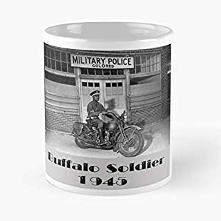 Buffalo Soldier Military Police - Best Gift Ceramic Coffee Mugs