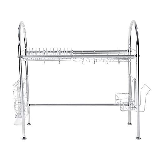 Changor Practical Dish Drainer, Design Cabinet Storage 67 x 67 x 28 cm 304 Stainless Steel