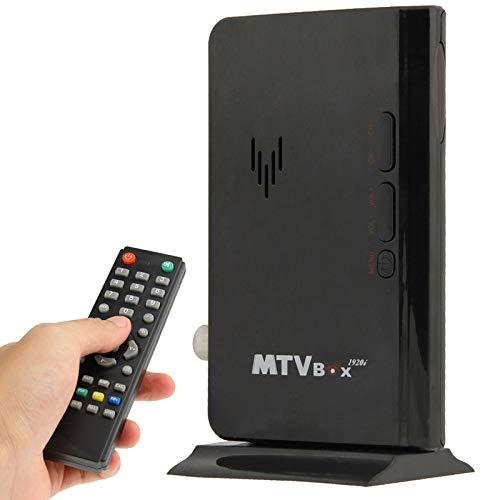 Leluckly1 Cavo Compatto e Leggero Global TV LCD Mini Ricevitore Digital Box Computer VGA Programmi TV ricevente del sintonizzatore del Dongle Monitor, Modello: 775Simple e Pratico
