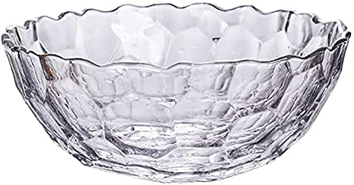 WANGSHAOFENG Fruit Bowls Large Capacity Transparent Fruit Bowl Decorative And Creative Fruit Plate Crystal Fruit Plate Vegetable Rack Ideal For Breads, Fruits, Gifts And More fruit baskets