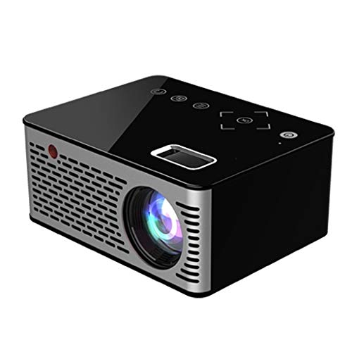 ZHSHML TYYJY Mini proyector LED Full HD compatible con pantalla para TV Stick, videojuegos, Smartphone Home Theater Entertainment