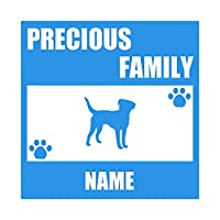 ForzaGroup 全犬種 全猫種対応 ボーダーテリア2 (137-96) 犬 イヌ 車 ステッカー 名前入れ