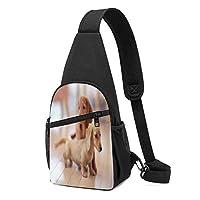 愛犬と家族の犬スリングバッグフェード耐性胸ショルダーバックパック防水ファニーパックしわ耐性胸バッグ屋外クロスボディバッグ男性女性十代の若者たち