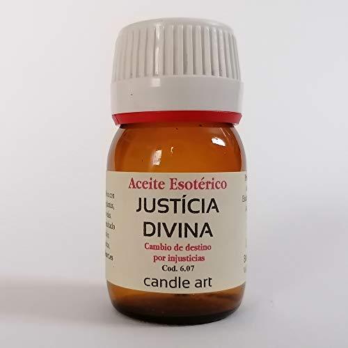 Candle Art Aceite con extracto de Plantas JUSTÍCIA Divina - UNGIR Velas