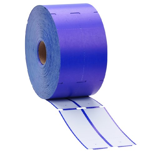 Direct Thermal Consignment Style Tags (Blue)