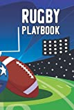 Rugby Playbook: Rugby Field Diagram For New Learning Players