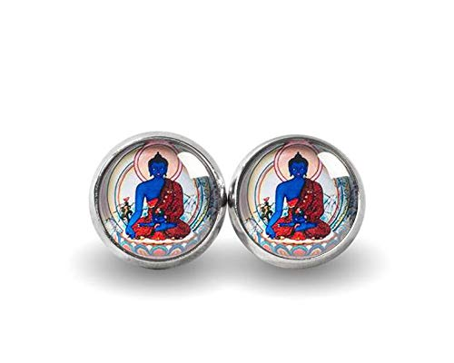 Simple Fashion Earrings Jewelry,Buddha Stud Earrings