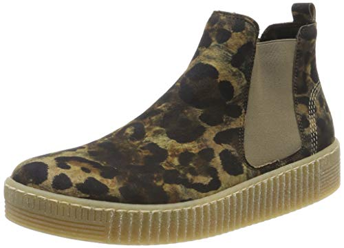 Gabor Shoes Gabor Jollys, Damen Kurzschaft Stiefel, Beige (Desert (Natur) 41), 42 EU (8 UK)