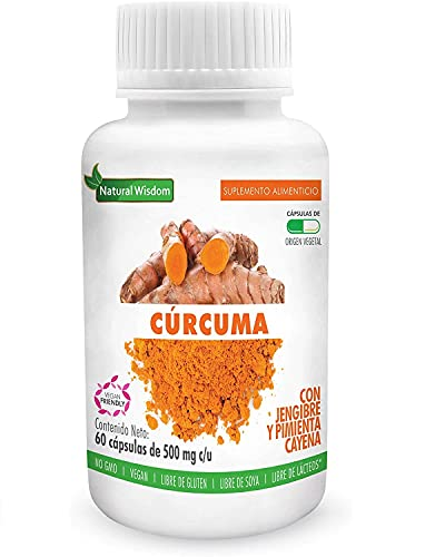 Curcuma Walmart marca Natural Wisdom