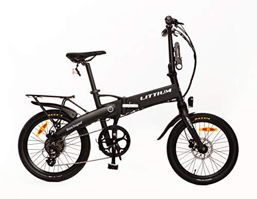 Littium Bicicleta eléctrica Ibiza Dogma 03 10.4A Negra, Adultos Unisex,...