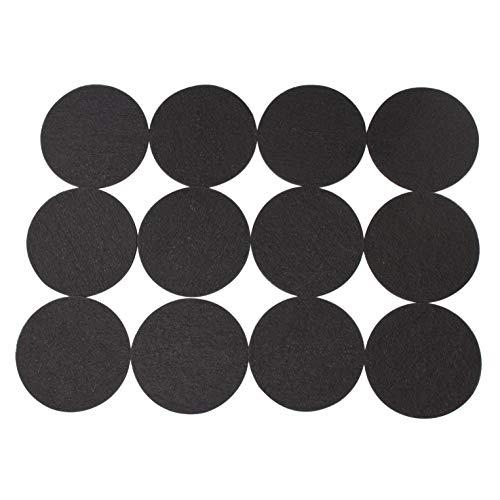 LTWHOME Aktivkohle Filterschwamm Passend für Eheim Ecco Pro 130/200/300 Ecco 2232/2234/2236(12 Stück)