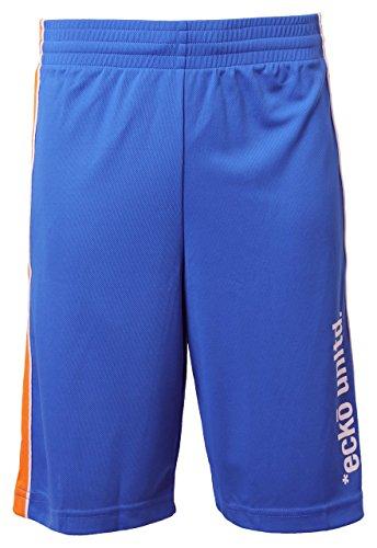 Ecko Unltd Herren Bunt Shorts Basketball Bermudas Sport Gym Sommer 'Nicobar' Prinzessin Blau, Gr. Small
