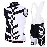 MTBサイクリングジャージーセットサイクリングジャージー、サイクリングベストシャツ+サイクリングパンツメンズ
