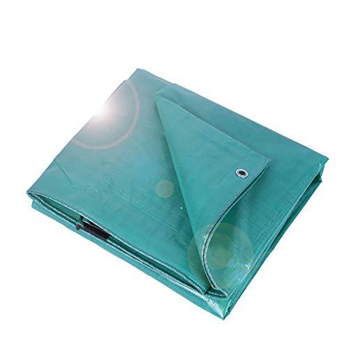 Baichen Lichtgewicht dekzeil, geweven polyethyleen en dubbel gelamineerd, 200 g/m2, 100% waterdicht, 2 x 3 m