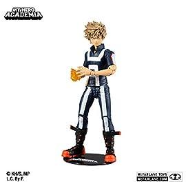 McFarlane Toys My Hero Academia Katsuki Bakugo: UA Festival Action Figure, Multi