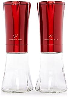 Wolfgang Puck Electric Gravity Spice Mill Set - Assorted Colors