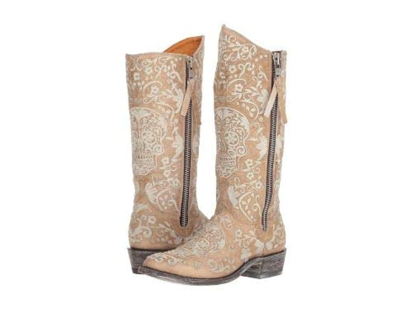 通行人郵便屋さん鋸歯状Old Gringo(オールドグリンゴ) レディース 女性用 シューズ 靴 ブーツ ウエスタンブーツ Klakrazz - Bone [並行輸入品]