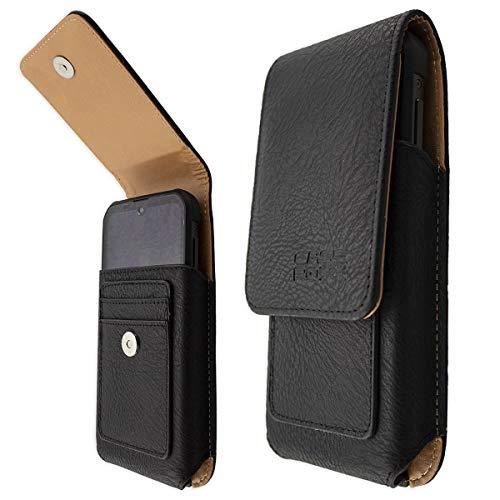 caseroxx Handy Tasche Outdoor Tasche für Blackview BV9900 / Pro/E, mit drehbarem Gürtelclip in schwarz