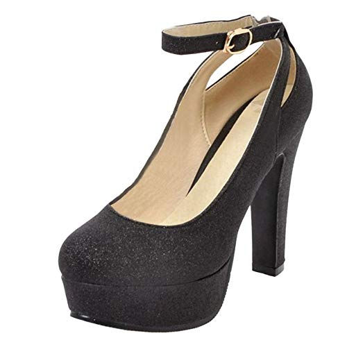 RAZAMAZA Zapatos de Tacon Alto para Mujer