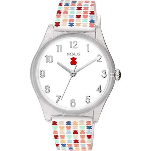 Reloj Tous 900350255 Tartan Kids de policarbonato con Correa de Silicona