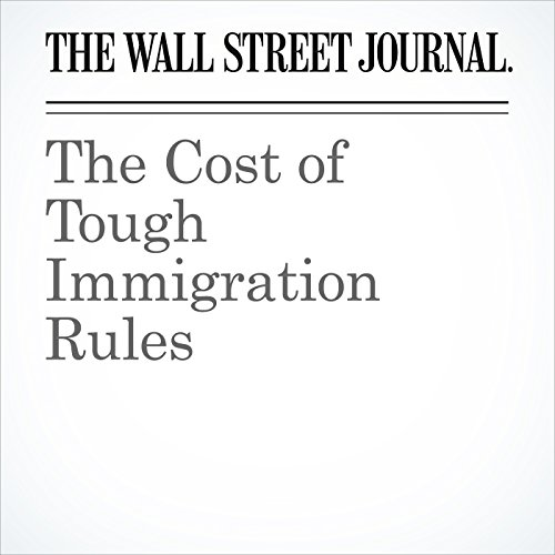 The Cost of Tough Immigration Rules copertina