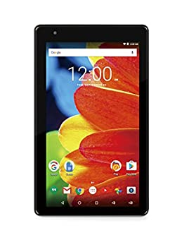 RCA RCT6873W42 Voyager 7 16GB Tablet 1024 X 600 Resolution 1.2GHz Intel Atom Quad-Core Processor Android 6.0 Marshmallow Black