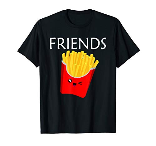 Matching Set - Burger and Fries Shirt - Best Friends Shirt