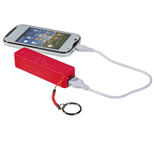 Clip Sonic Technology tea109sr Backup-Batterie 2200mAh rot