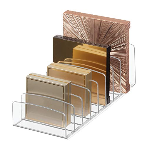iDesign Clarity BPA-Free Plastic Divided Makeup Palette...