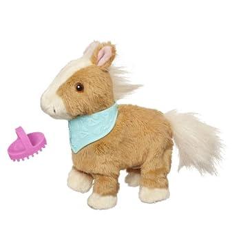 FurReal Friends Snuggimals Walkin  Ponies Shimmer Sky Pet