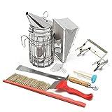 Janolia - Kit di Attrezzi per Apicoltura 8 in 1, Accessori per Apicoltura, Kit per Apicoltori Professionisti