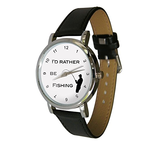 I'd Rather be Fishing Design Watch