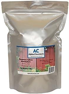 Manganese Sulfate Monohydrate - 32% Mn - 5 Pounds