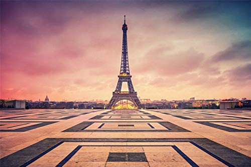 1000 Pieces Jigsaw Puzzles,Eiffel Tower,Square,Diy Picture Wooden,Decoration For The Home