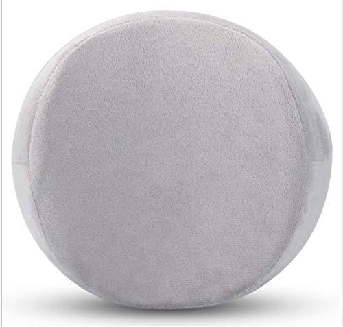 MAHALAXMI Memory Foam Knee Pillow. Pain relief for leg, back, pregnancy discomfort, sciatica, arthritis. Ergonomic knee cushion for side sleepers (Grey)