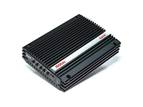 I-SOTEC Isoamp-4One - 4-Kanal Auto Plug&Play Endstufe/Verstärker für Werks-Radios mit ISO Anschlusskabel